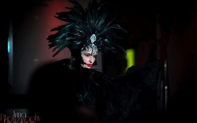 Grace Hall Burlesque Show foto Anna Pierobon 1