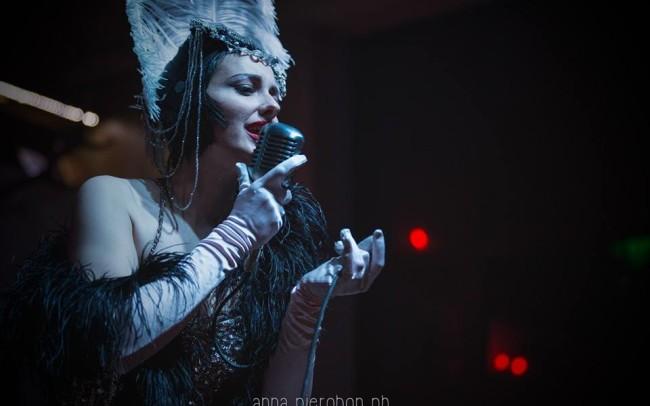 Grace Hall Burlesque Show foto di Anna Pierobon ab
