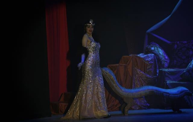 Grace Hall in Cabaret Burlesque direzione artistica di Grace Hall